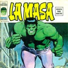 Cómics: LA MASA V2-6 (VERTICE). Lote 183473602