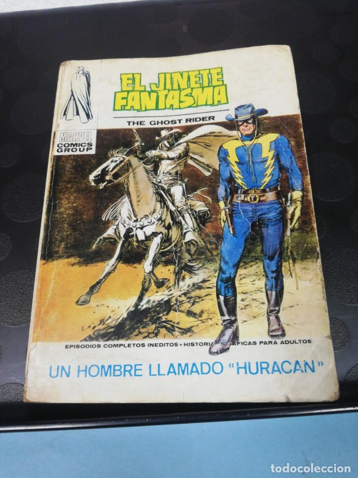 EL JINETE FANTASMA. N.4. UN HOMBRE LLAMADO HURACAN (Tebeos y Comics - Vértice - V.1)
