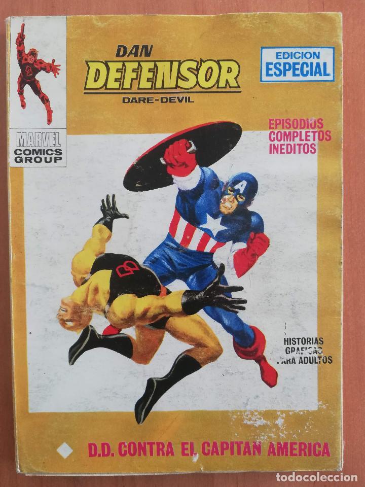 DAN DEFENSOR Nº 17 TACO VERTICE (Tebeos y Comics - Vértice - V.1)