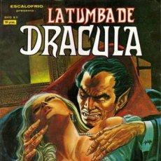 Cómics: ESCALOFRIO-LA TUMBA DE DRÁCULA - V-1- Nº 4 -ANGÉLICA-ÚLT. COLEC.-G.COLAN-J.BUSCEMA-1980-DIFICIL-2368. Lote 183505655