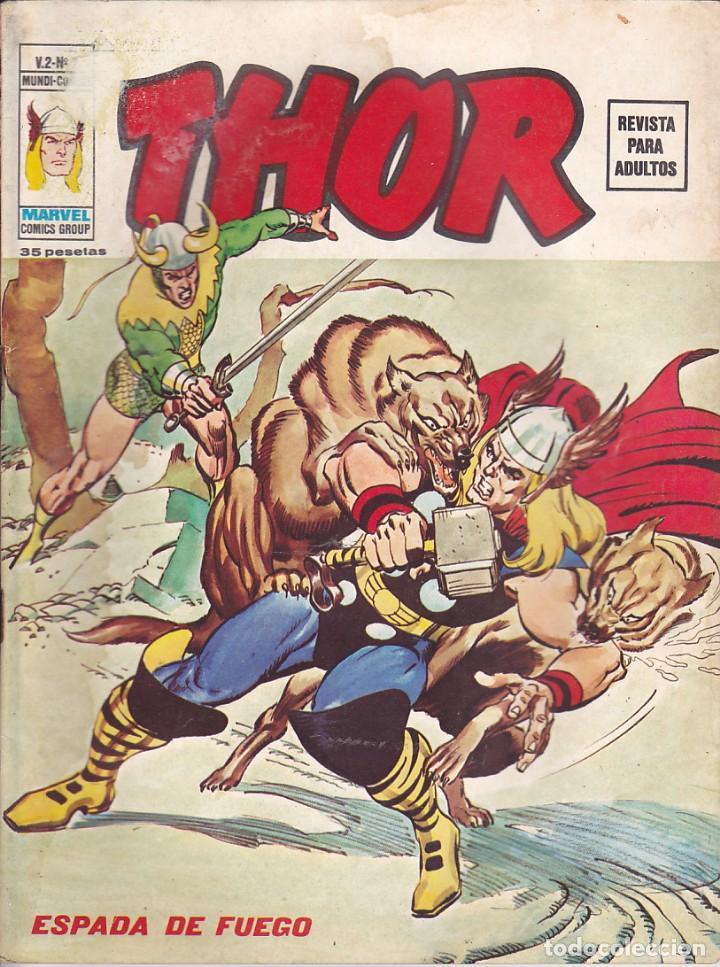 COMIC COLECCION THOR VOL.2 Nº 7 (Tebeos y Comics - Vértice - Thor)