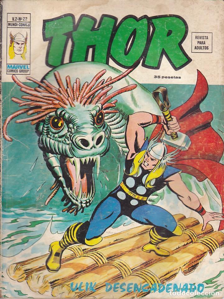 COMIC COLECCION THOR VOL.2 Nº 22 (Tebeos y Comics - Vértice - Thor)