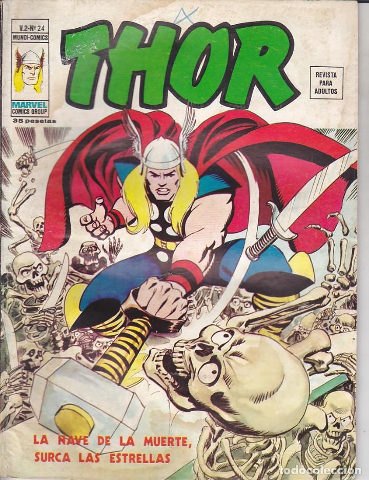 COMIC COLECCION THOR VOL.2 Nº 24 (Tebeos y Comics - Vértice - Thor)
