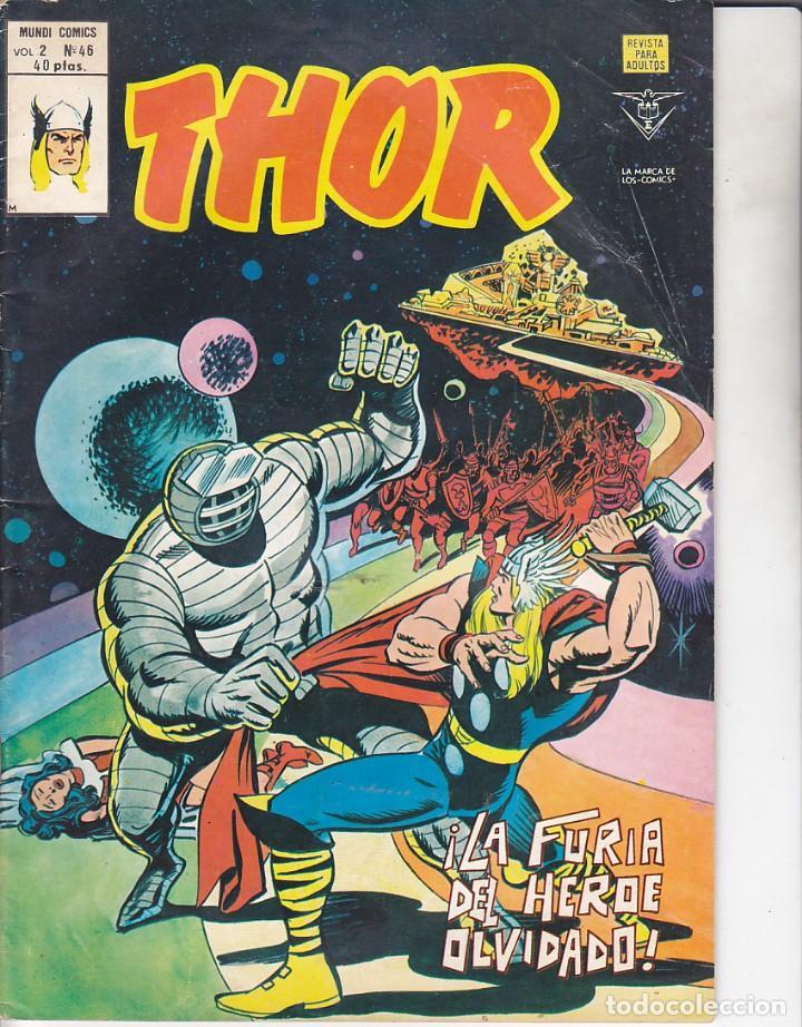 COMIC COLECCION THOR VOL.2 Nº 46 (Tebeos y Comics - Vértice - Thor)