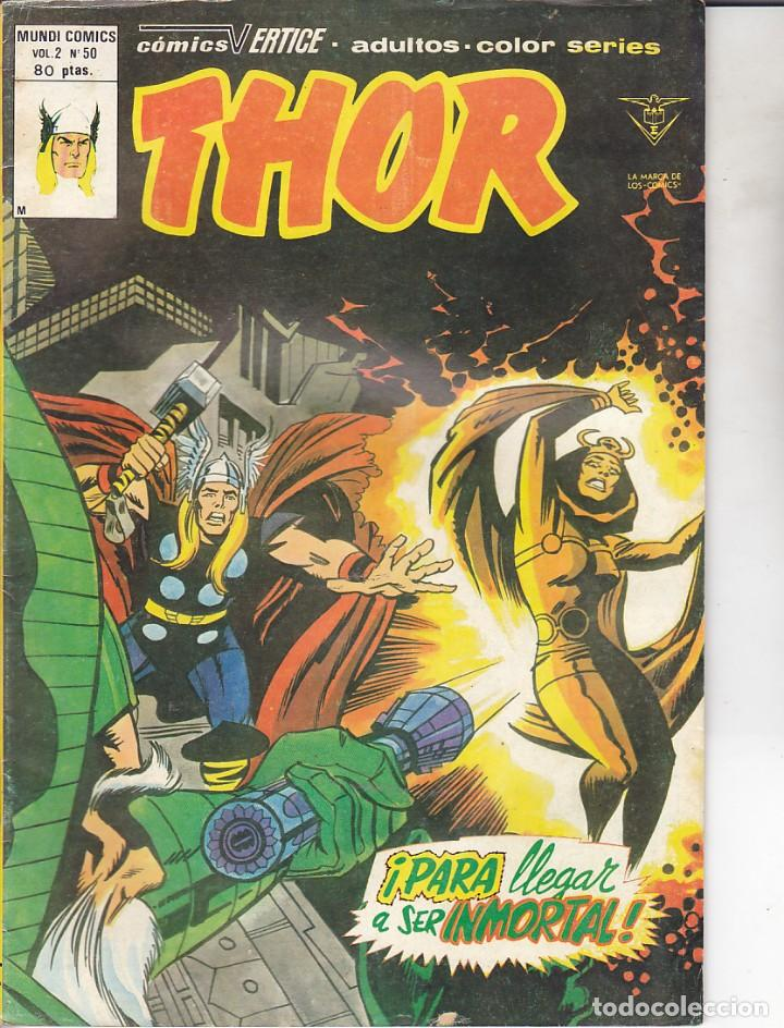 COMIC COLECCION THOR VOL.2 Nº 50 (Tebeos y Comics - Vértice - Thor)