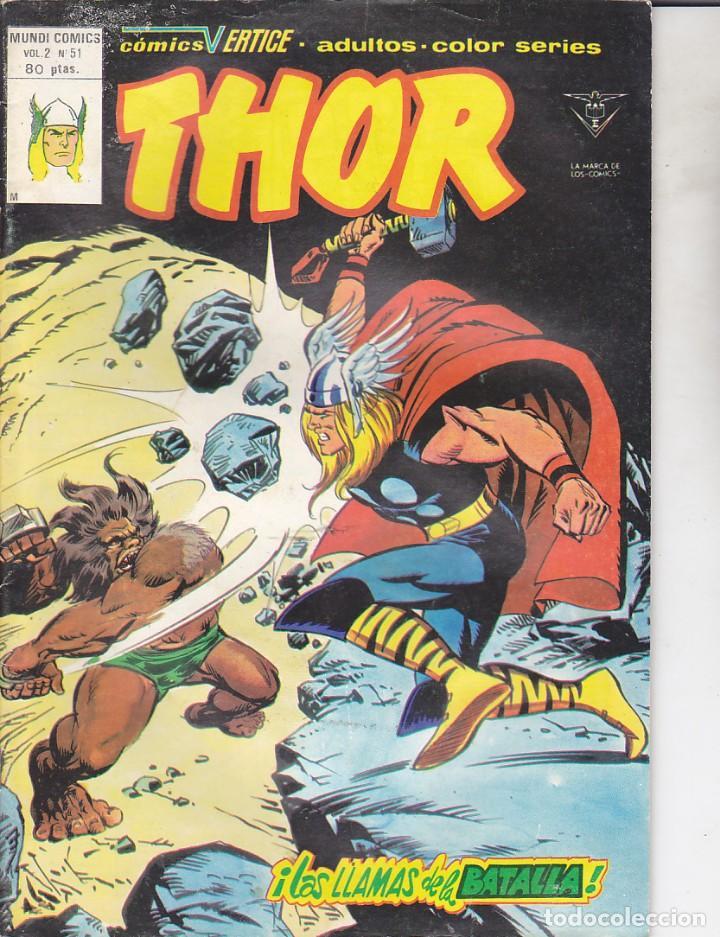 COMIC COLECCION THOR VOL.2 Nº 51 (Tebeos y Comics - Vértice - Thor)