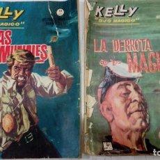 Cómics: OFERTA 2 KELLY OJO MAGICO DE GRAPA Nº 12 Y 13 - DERROTA DE MAGUS Y FIERAS DESCOMUNALES - VER DESCRIP. Lote 183766173
