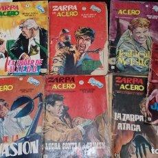 Cómics: OFERTA - LOTE 7 Nº DE ZARPA DE ACERO GRAPA - Nº 3, 4, 5, 13, 17, 22 Y 25 - VERTICE - VER DESCRIPCION. Lote 183767620