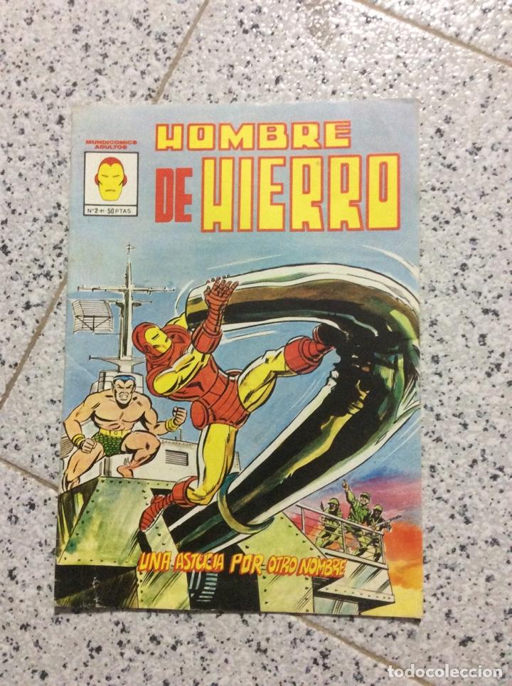 HOMBRE DE HIERRO (Tebeos y Comics - Vértice - Hombre de Hierro)