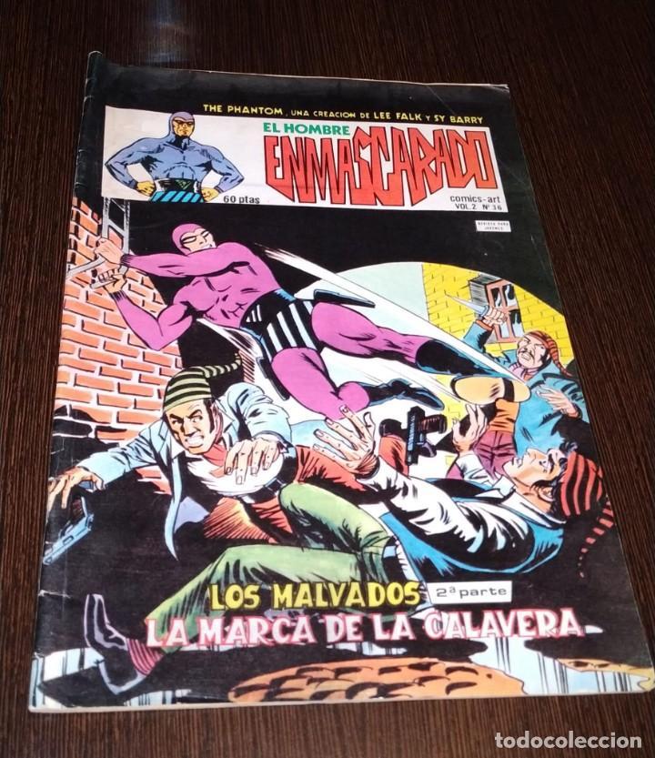EL HOMBRE ENMASCARADO, VOL 2 NUMERO 36. VERTICE. (Tebeos y Comics - Vértice - Hombre Enmascarado)
