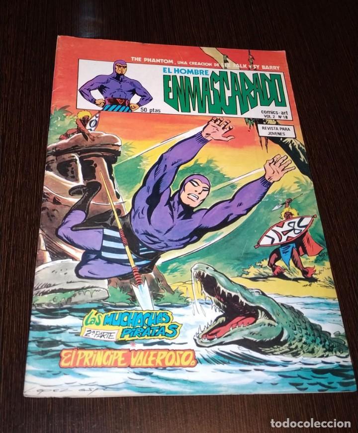 EL HOMBRE ENMASCARADO, VOL 2 NUMERO 18. VERTICE. (Tebeos y Comics - Vértice - Hombre Enmascarado)