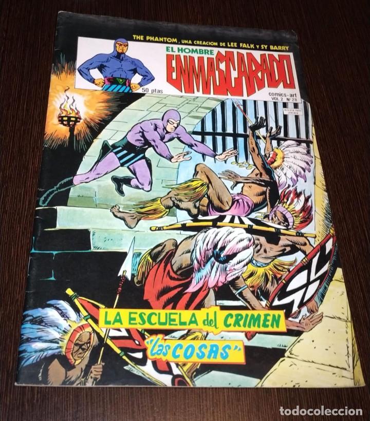 EL HOMBRE ENMASCARADO, VOL 2 NUMERO 28. VERTICE. (Tebeos y Comics - Vértice - Hombre Enmascarado)