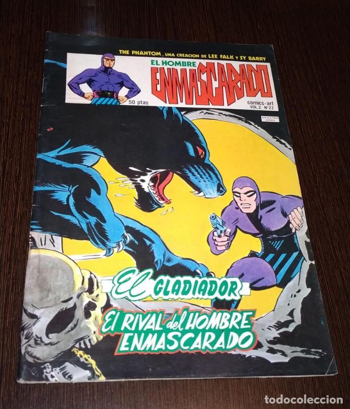 EL HOMBRE ENMASCARADO, VOL 2 NUMERO 22. VERTICE. (Tebeos y Comics - Vértice - Hombre Enmascarado)