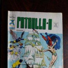 Cómics: PATRULLA X. V.3-Nº 3. EDICIONES VERTICE. 1974.. Lote 184335825