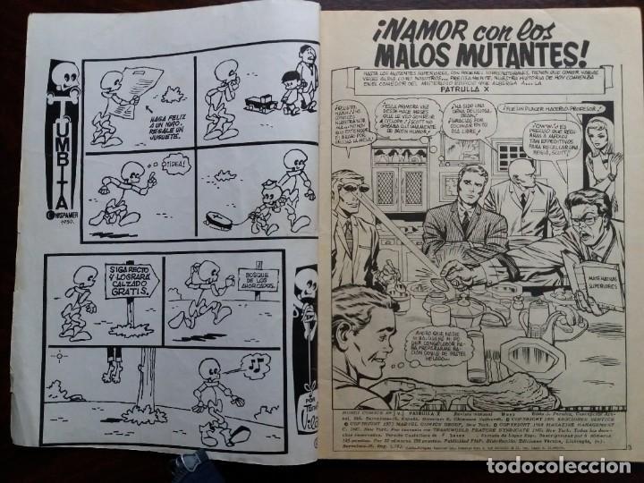 Cómics: PATRULLA X. V.3-Nº 3. EDICIONES VERTICE. 1974. - Foto 3 - 184335825
