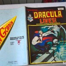Cómics: COMIC: ESCALOFRIO Nº 11- DRACULA LIVES! Nº 3 - HISTORIAS GRAFICAS DE MEDIANOCHE. Lote 184346746