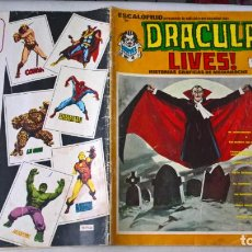Cómics: COMIC: ESCALOFRIO Nº 15 - DRACULA LIVES! Nº 4 - HISTORIAS GRAFICAS DE MEDIANOCHE. Lote 184347877