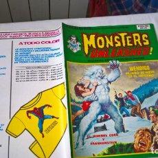 Cómics: COMIC: ESCALOFRIO 34 - MONSTERS UNLEASHED! Nº 9 - HISTORIAS GRAFICAS DE MEDIANOCHE. Lote 184352251