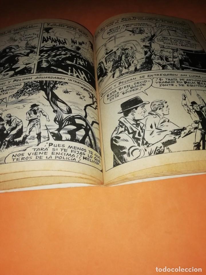 Cómics: SPIDER. EL HOMBRE ARAÑA. EXTRA. Nº 18. CRIMEN, SOCIEDAD LIMITADA. VERTICE 1968 .TACO. DIFICIL. - Foto 7 - 184451847