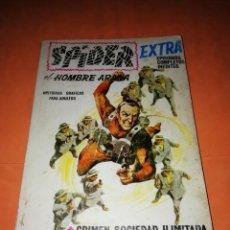 Cómics: SPIDER. EL HOMBRE ARAÑA. EXTRA. Nº 18. CRIMEN, SOCIEDAD LIMITADA. VERTICE 1968 .TACO. DIFICIL.. Lote 184451847
