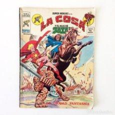 Cómics: MUNDI CÓMIC LA COSA Y EL HIJO DE SATÁN - LA CIUDAD FANTASMA - VÉRTICE MARVEL V.2 Nº56. Lote 184496982
