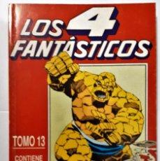 Cómics: LOS 4 FANTASTICOS - TOMO 13 - CON 5 NUMEROS DEL 111 AL 115 - AÑO 1991 EDICION PLANETA - AGOSTINI. Lote 184667330