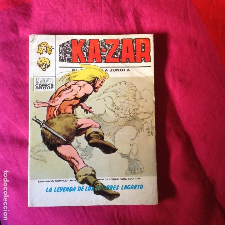 KAZAR VOL 1 N 2 VERTICE (Tebeos y Comics - Vértice - Super Héroes)