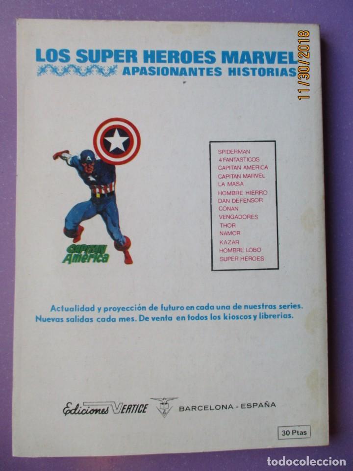 Cómics: SUPER HEROES Nº 8 VERTICE TACO ¡¡¡¡¡¡ EXCELENTE ESTADO !!!!!!!!! LOMO BLANQUITO - Foto 2 - 184807295