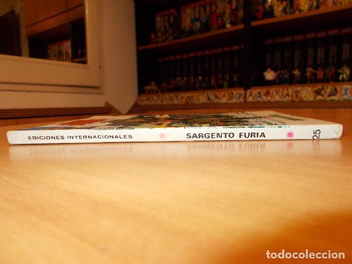 Cómics: SARGENTO FURIA V.1 Nº 25 MUY BUEN ESTADO - Foto 2 - 184827005