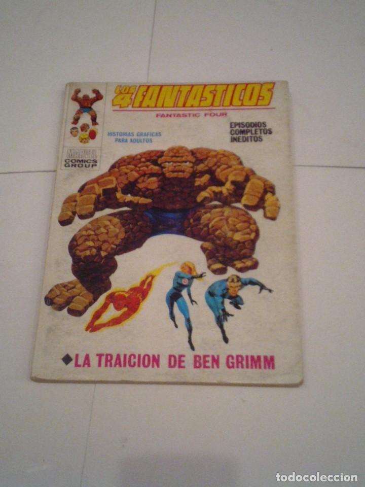 LOS 4 FANTASTICOS - VERTICE - VOLUMEN 1 - NUMERO 34 - BUEN ESTADO ALTO - CJ 113 - GORBAUD (Tebeos y Comics - Vértice - 4 Fantásticos)