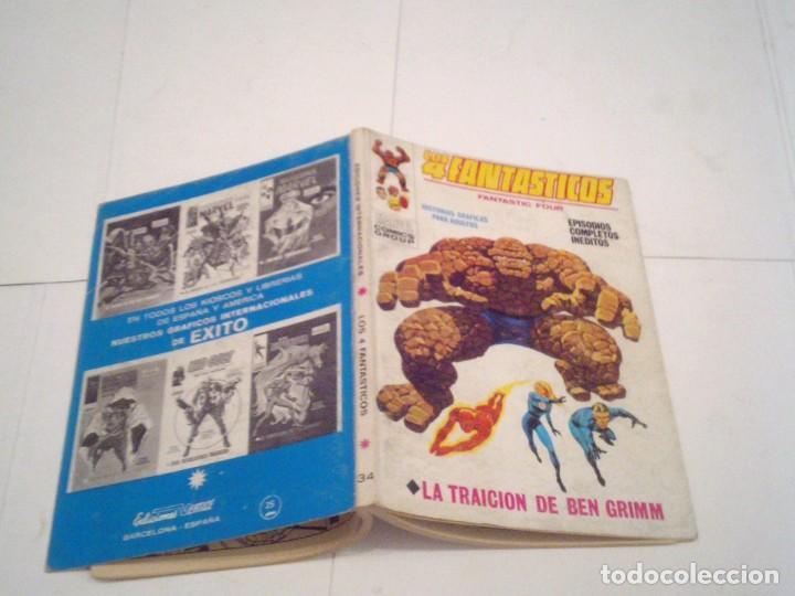 Cómics: LOS 4 FANTASTICOS - VERTICE - VOLUMEN 1 - NUMERO 34 - BUEN ESTADO ALTO - CJ 113 - GORBAUD - Foto 6 - 184827572