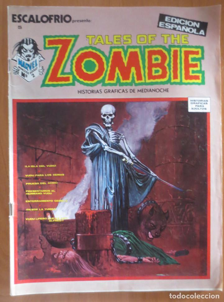 ESCALOFRIO Nº 5 TALES OF THE ZOMBIE VERTICE (Tebeos y Comics - Vértice - Terror)