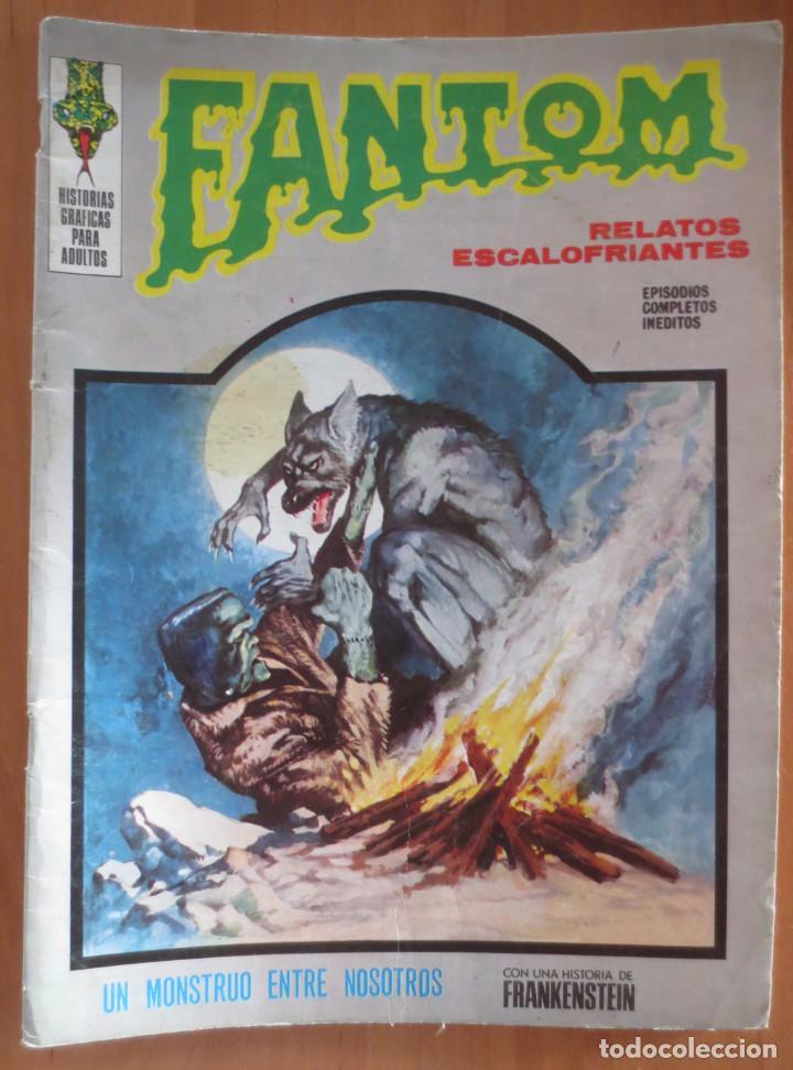 FANTOM Nº 27 VERTICE (Tebeos y Comics - Vértice - Terror)