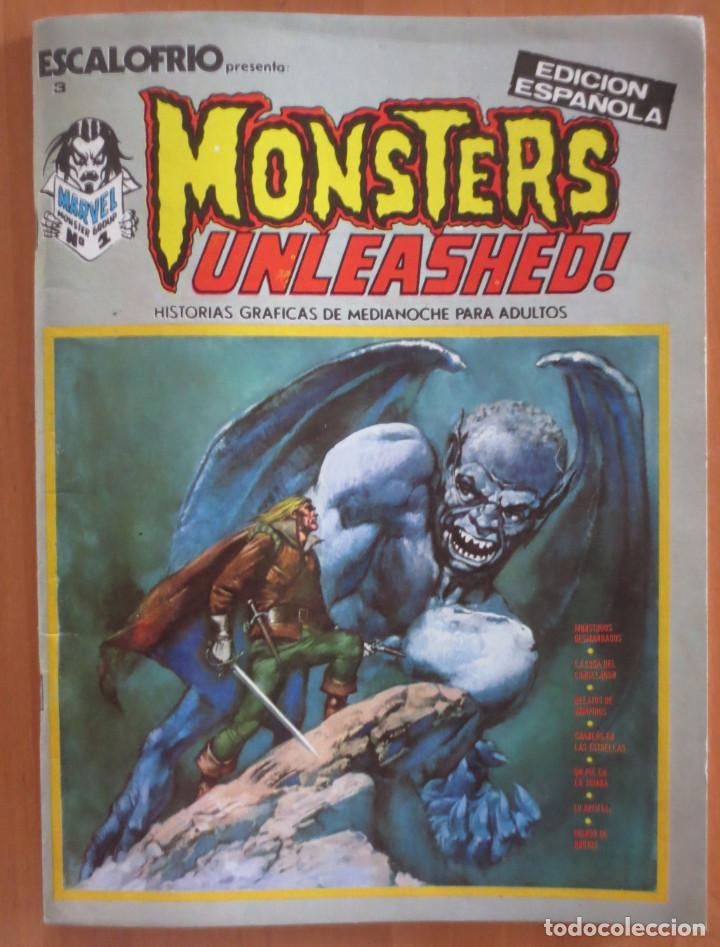 ESCALOFRIO Nº 3 MONSTERS UNLEASHER VERTICE (Tebeos y Comics - Vértice - Terror)
