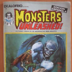 Cómics: ESCALOFRIO Nº 3 MONSTERS UNLEASHER VERTICE. Lote 184877751