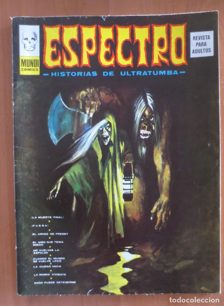 ESPECTRO Nº 36 VERTICE (Tebeos y Comics - Vértice - Terror)