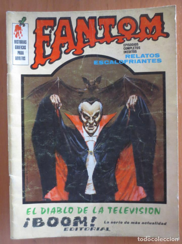 FANTOM Nº 3 VERTICE (Tebeos y Comics - Vértice - Terror)