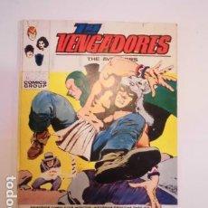 Cómics: LOS VENGADORES - NUM 37 – MUERTE DE UNA LEYENDA - VERTICE - FORMATO TACO. Lote 184880617