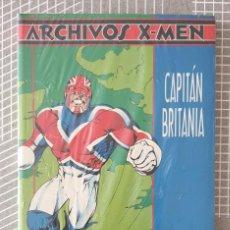 Cómics: ARCHIVOS X-MEN Nº 5. CAPITAN BRITANIA. PRECINTADO. COMICS FORUM 1996. Lote 184883033