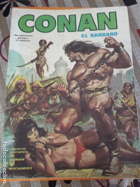 CONAN EL BARBARO EXTRA-1 (Tebeos y Comics - Vértice - Surco / Mundi-Comic)