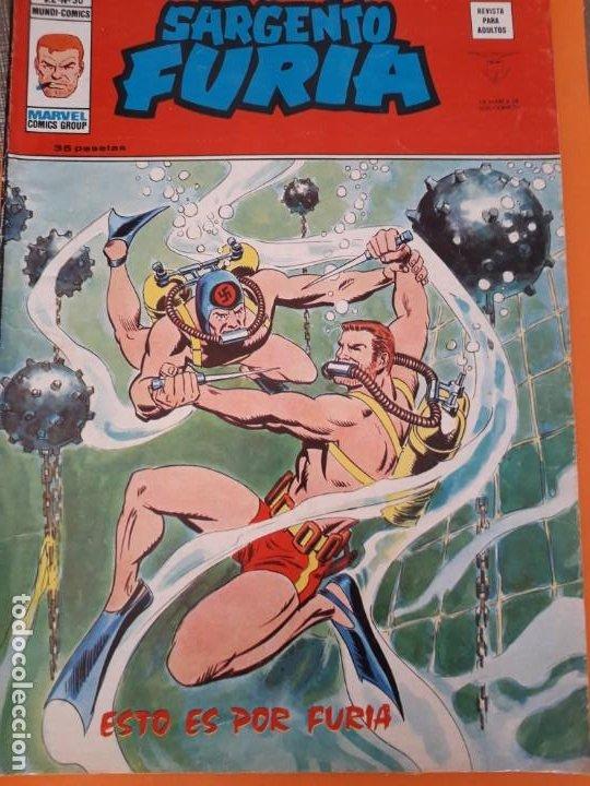 SARGENTO FURIA N-30 (Tebeos y Comics - Vértice - V.2)