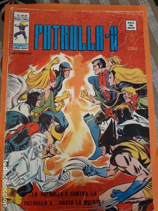 PATRULLA X N-22 (Tebeos y Comics - Vértice - Patrulla X)