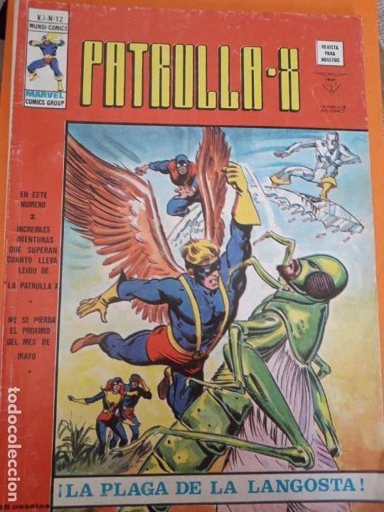PATRULLA X N-12 (Tebeos y Comics - Vértice - Patrulla X)