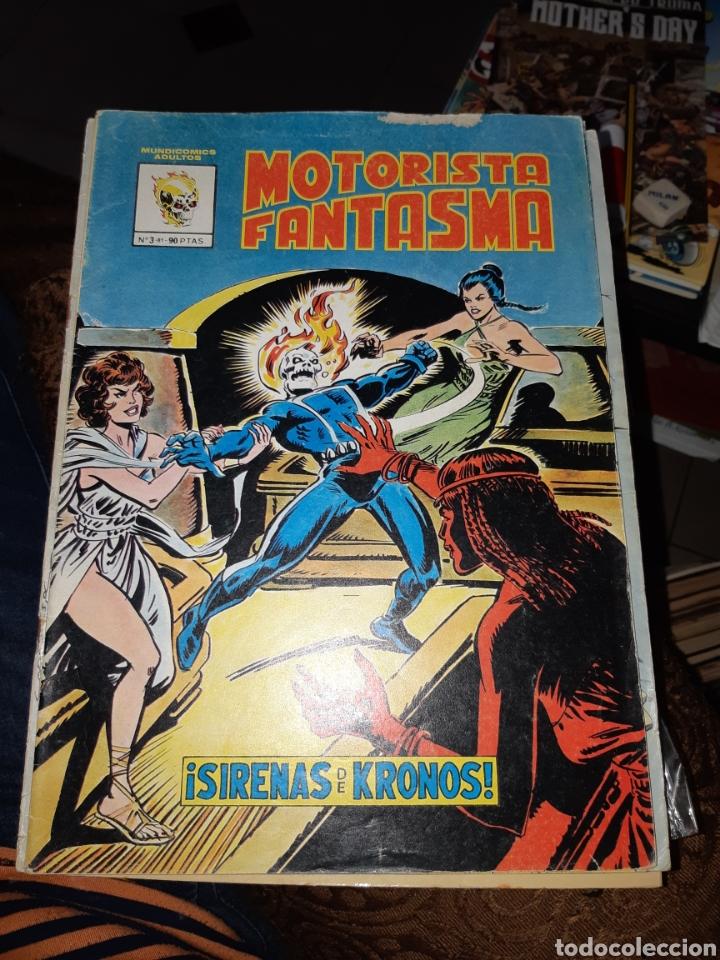 TEBEOS-CÓMICS CANDY - MOTORISTA FANTASMA 3 - MUNDICOMICS VÉRTICE - AA98 (Tebeos y Comics - Vértice - Surco / Mundi-Comic)