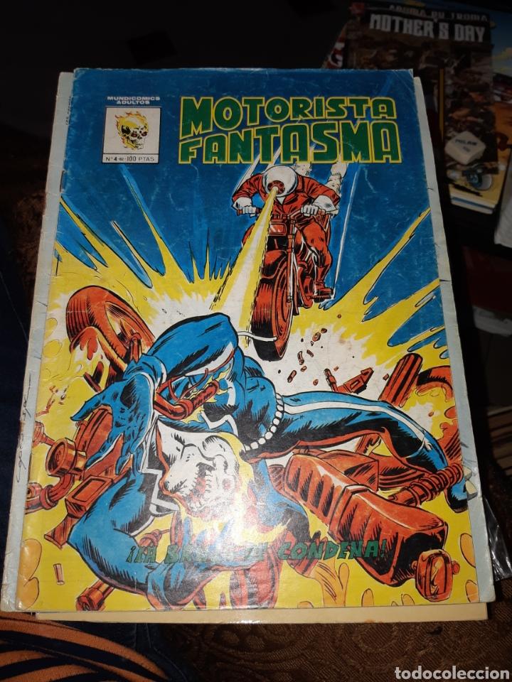 TEBEOS-CÓMICS CANDY - MOTORISTA FANTASMA 4 - MUNDICOMICS VÉRTICE - AA99 (Tebeos y Comics - Vértice - Surco / Mundi-Comic)