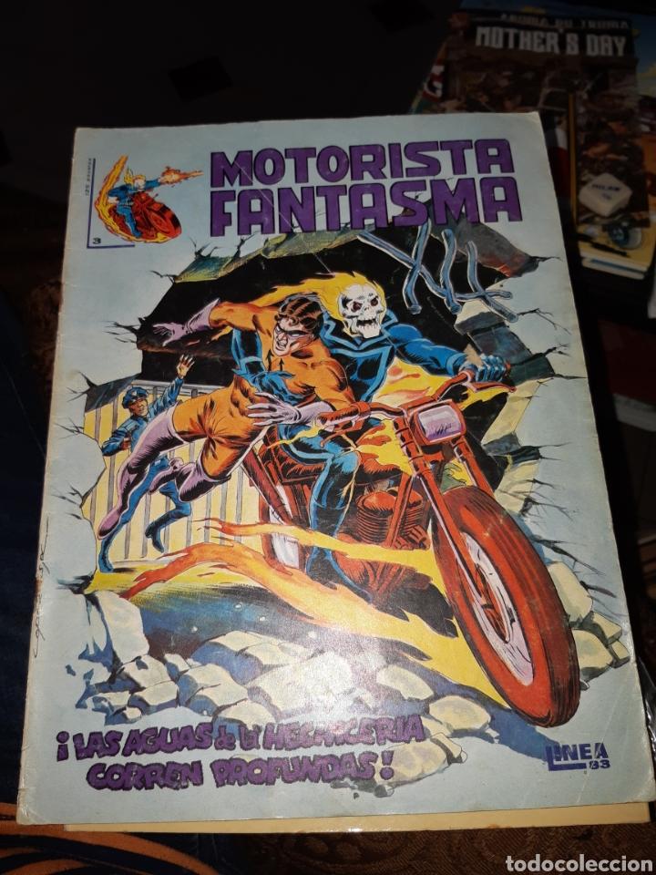 TEBEOS-CÓMICS CANDY - MOTORISTA FANTASMA 3 - SURCO - AA98 (Tebeos y Comics - Vértice - Surco / Mundi-Comic)