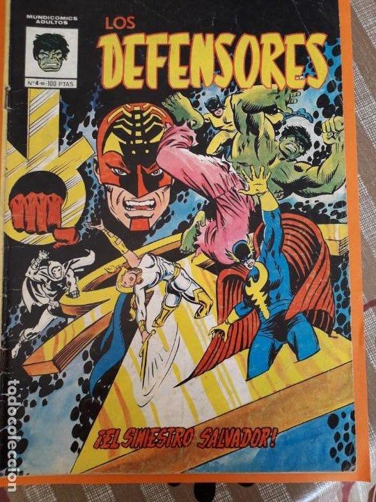 LOS DEFENSORES N-4 (Tebeos y Comics - Vértice - V.3)