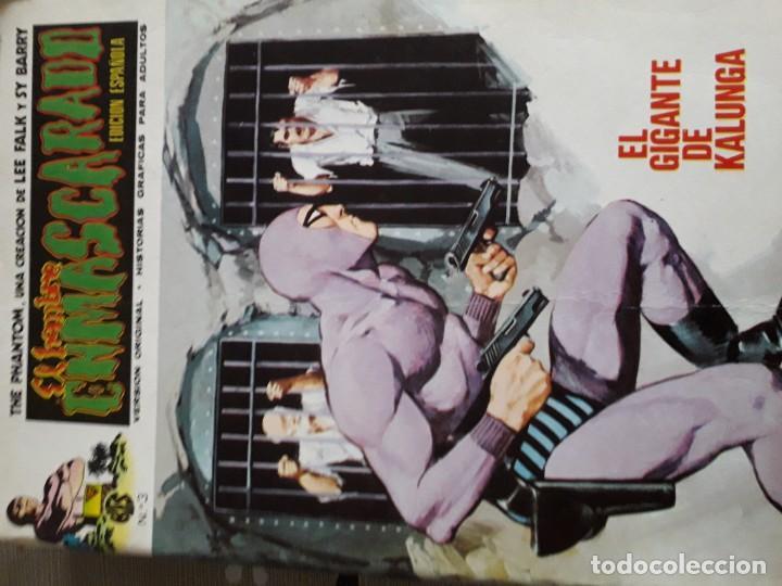 Cómics: EL HOMBRE ENMASCARADO 56 COMICS AÑO 1973¡¡¡¡¡¡¡ COMPLETA¡¡¡¡¡¡¡¡¡ - Foto 5 - 185831936