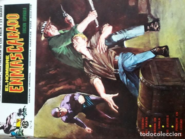 Cómics: EL HOMBRE ENMASCARADO 56 COMICS AÑO 1973¡¡¡¡¡¡¡ COMPLETA¡¡¡¡¡¡¡¡¡ - Foto 6 - 185831936