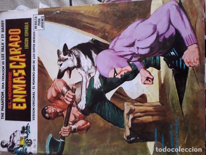 Cómics: EL HOMBRE ENMASCARADO 56 COMICS AÑO 1973¡¡¡¡¡¡¡ COMPLETA¡¡¡¡¡¡¡¡¡ - Foto 7 - 185831936